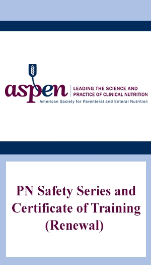 PN Safety Series and Certificate of Training (Renewal)